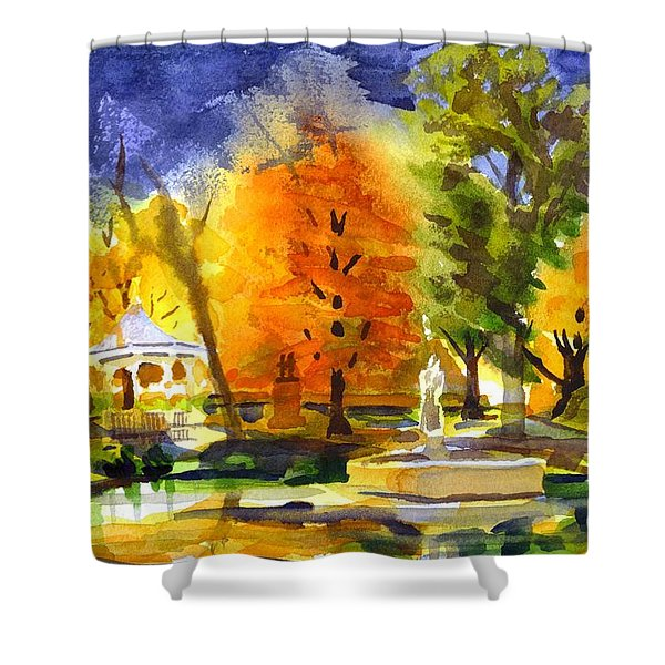 Autumn Gold 2 Shower Curtain