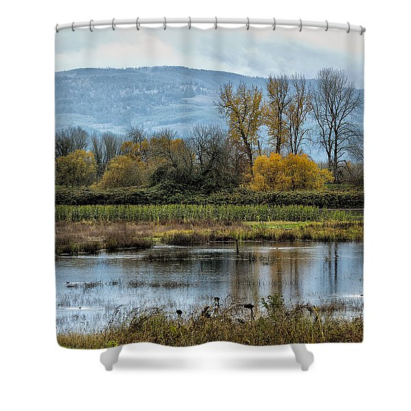 Autumn Haven Shower Curtain