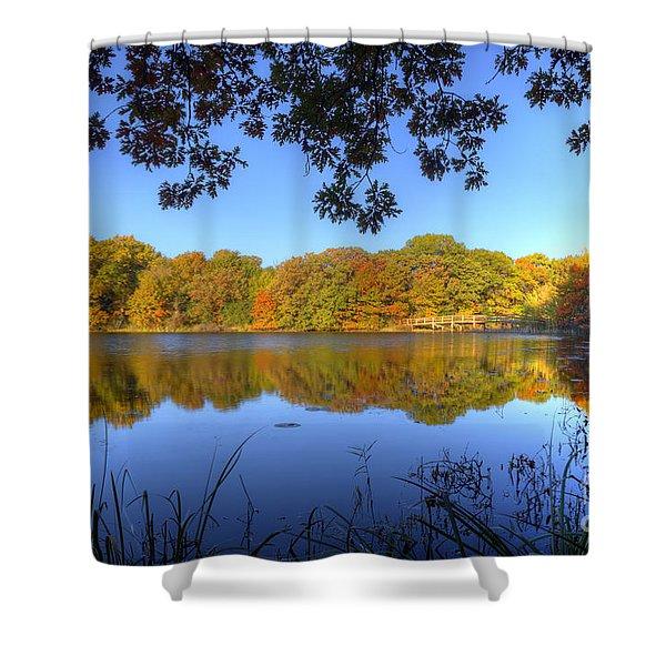 Autumn In Heaven Shower Curtain