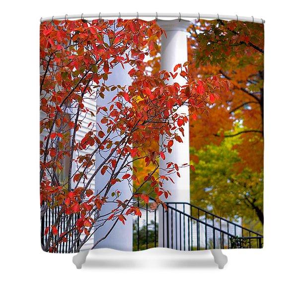 Autumn In Long Grove 2 Shower Curtain