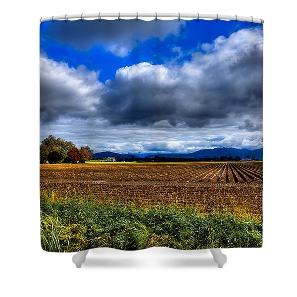 Autumn In Mount Vernon Shower Curtain