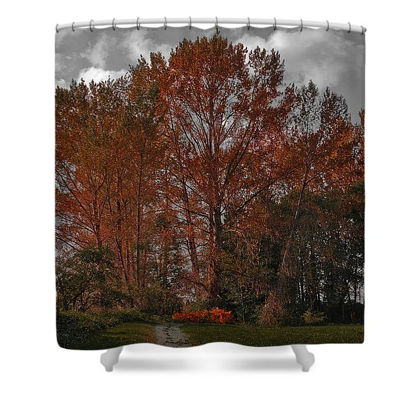Autumn In Mt Vernon Shower Curtain