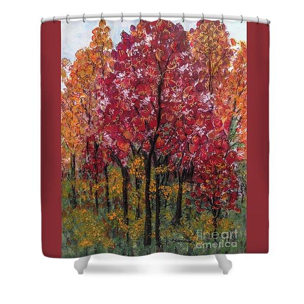 Autumn In Nashville Shower Curtain