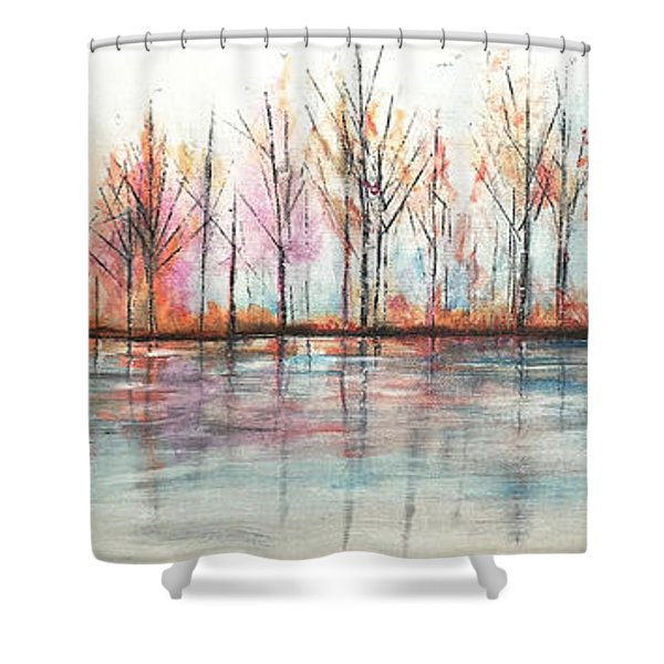 Autumn In The Hamptons Shower Curtain