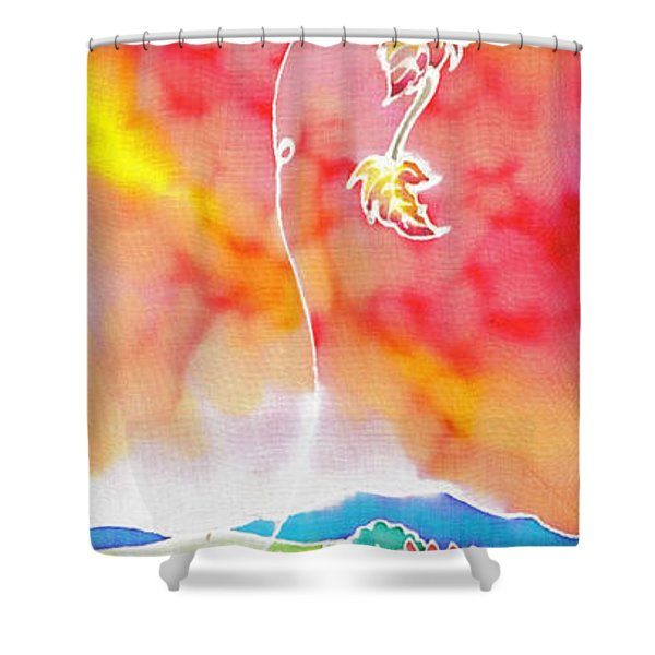 Autumn Jewelry Shower Curtain