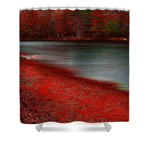 Autumn Land Shower Curtain