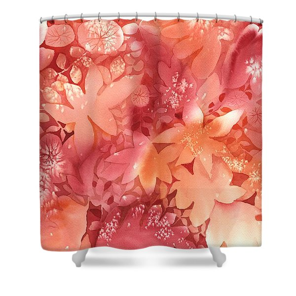 Autumn Monochrome Shower Curtain