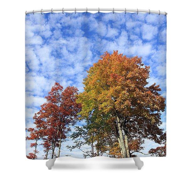 Autumn Perfection Shower Curtain