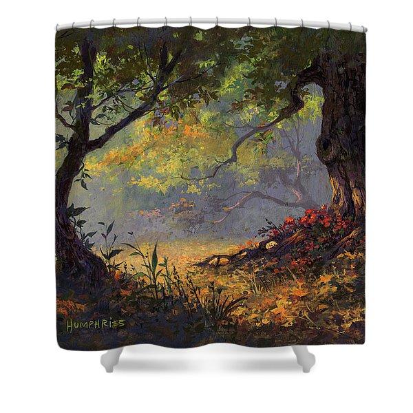 Autumn Shade Shower Curtain