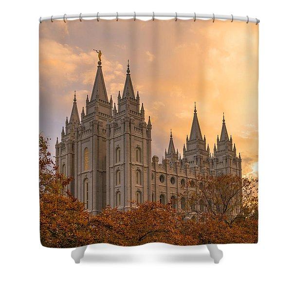 Autumn Splendor Shower Curtain