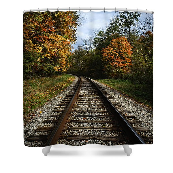 Autumn View Shower Curtain