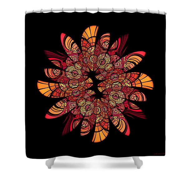 Autumn Wreath Shower Curtain