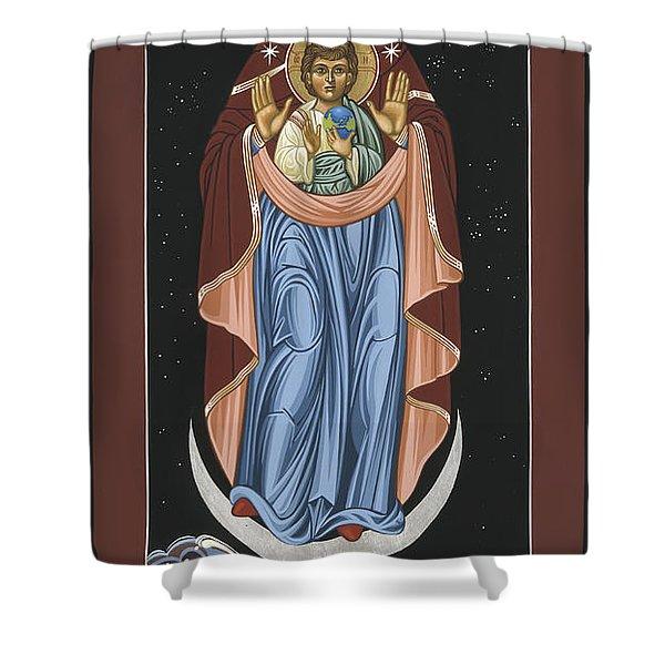 Ave Maris Stella  Hail Star Of The Sea 044 Shower Curtain