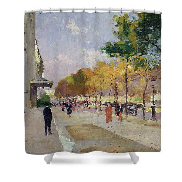 Avenue Montaigne, Paris  Shower Curtain