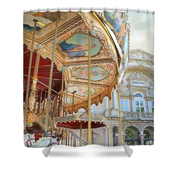 Avignon Carousel Shower Curtain