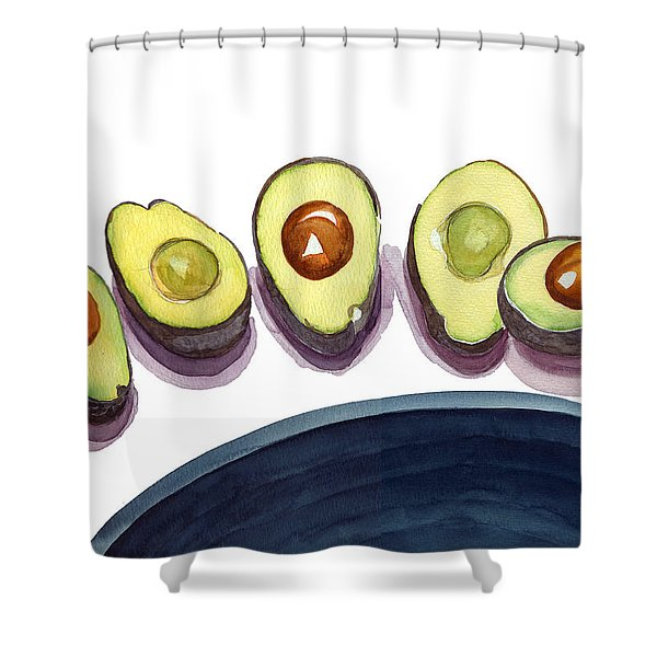 Avocados Shower Curtain
