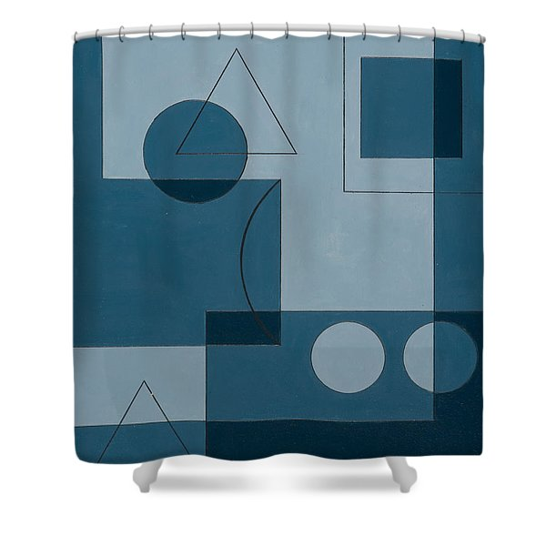 Axiom Shower Curtain