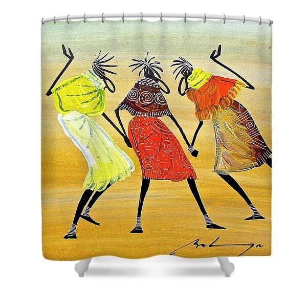B 242 Shower Curtain