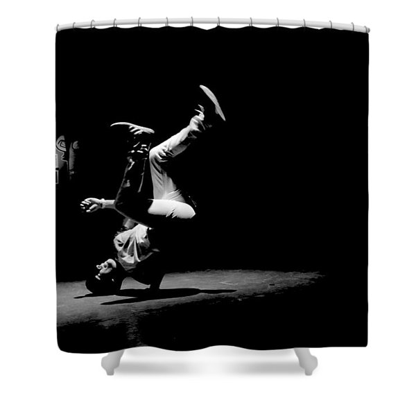 B Boy 5 Shower Curtain