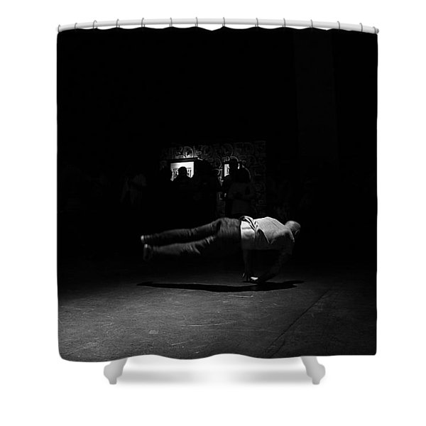 B Boy 6 Shower Curtain