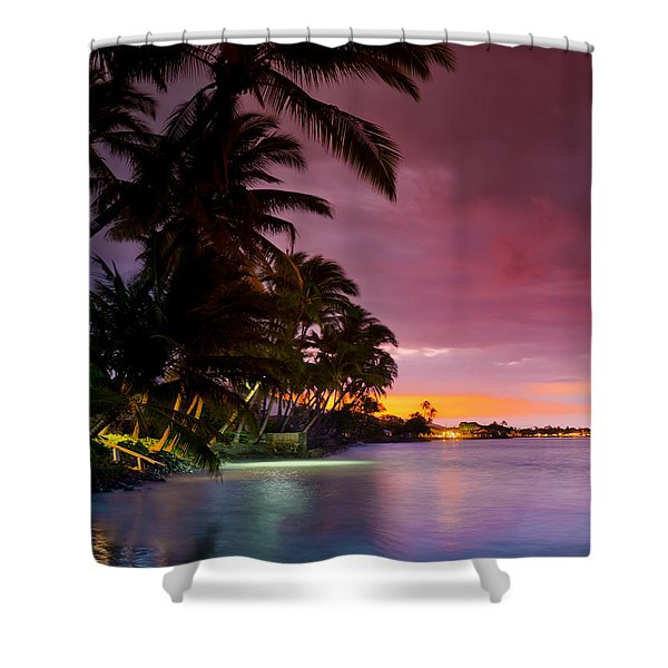 Baby Blues And Pinks Shower Curtain