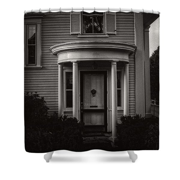 Back Home Bar Harbor Maine Shower Curtain