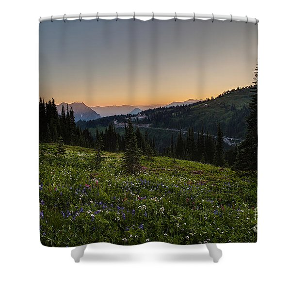 Back To Paradise Shower Curtain