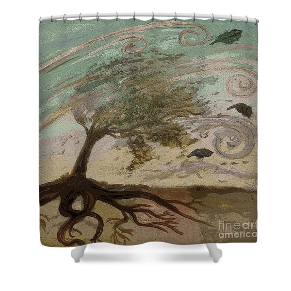 Back To Solace Shower Curtain