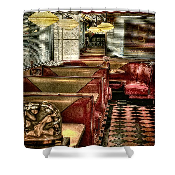 Back To The Fifties Shower Curtain