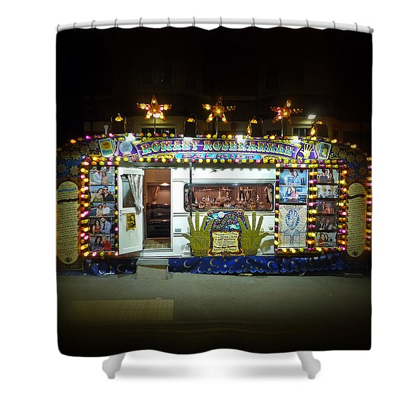Back To The Fortune Shower Curtain