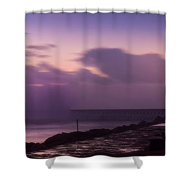 Bad Weather In Oporto 2014 Shower Curtain