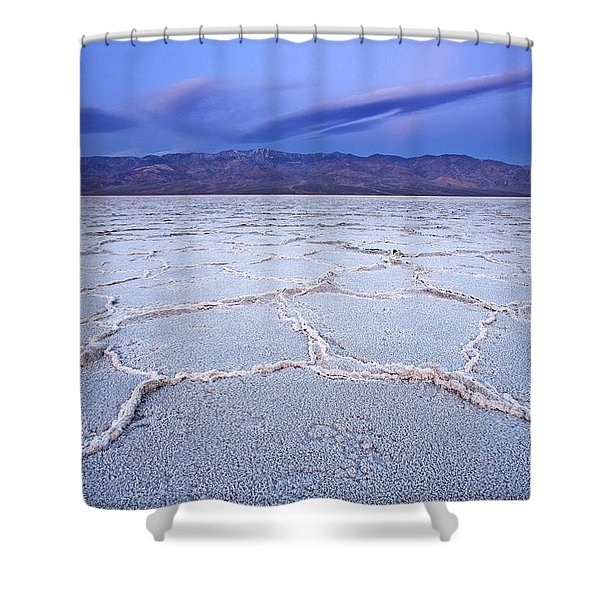 Badwater Dawn Shower Curtain