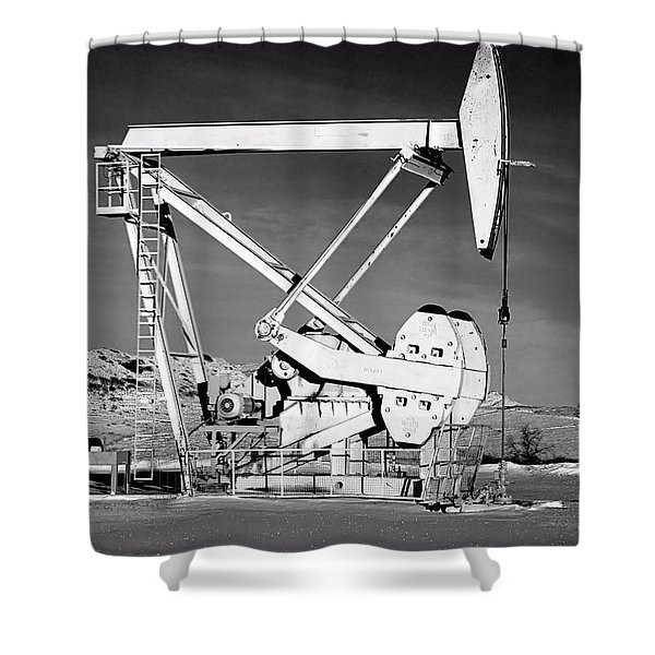 Bakken Shower Curtain