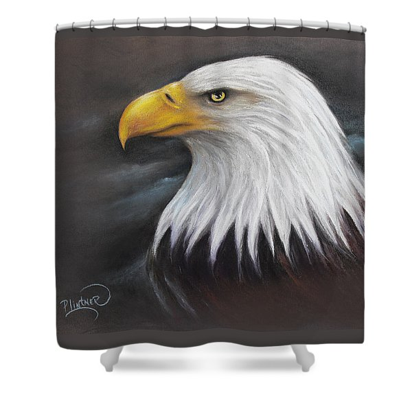 Bald Eagle Shower Curtain