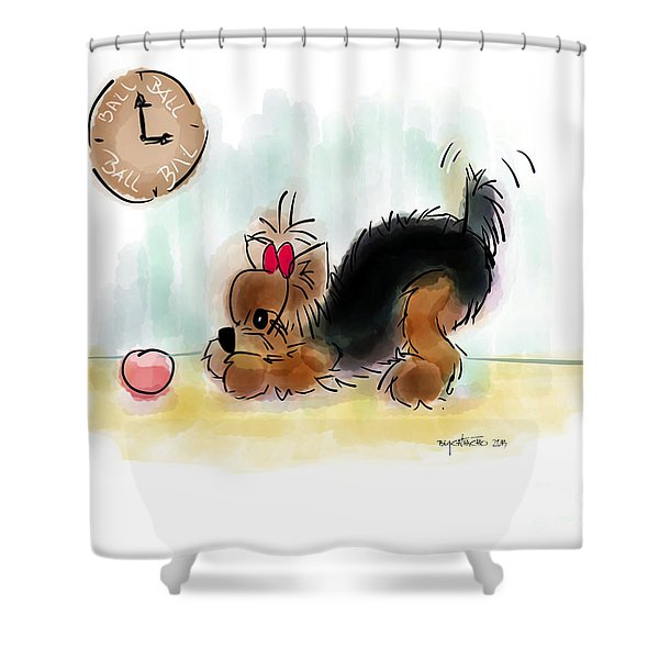 Ball Time Shower Curtain