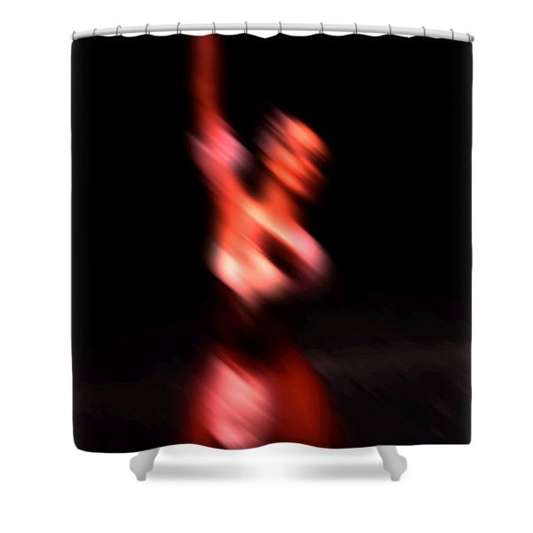 Ballet Blur 4 Shower Curtain