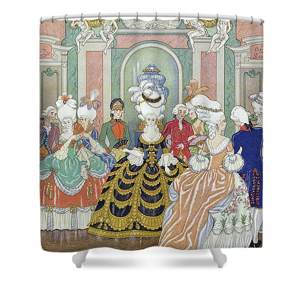 Ballroom Scene Shower Curtain
