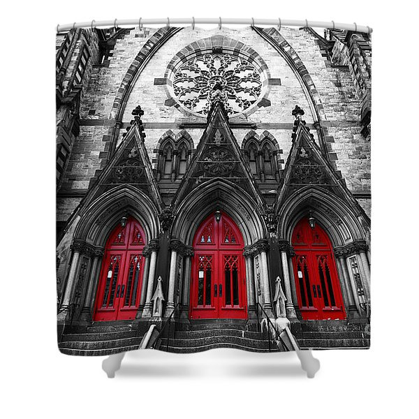Baltimore Mount Vernon United Methodist Church Shower Curtain