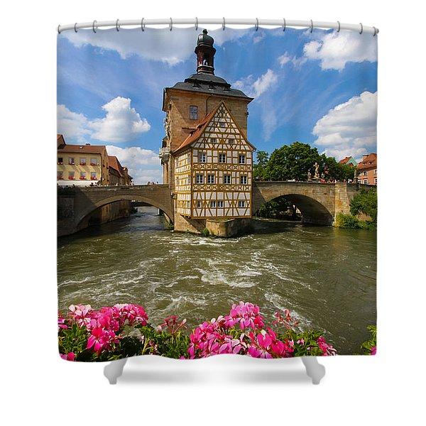 Bamberg Bridge Shower Curtain
