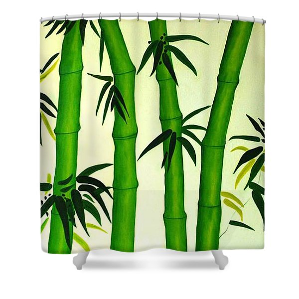 Bamboos Shower Curtain