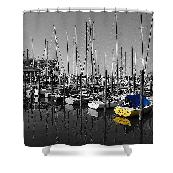Banana Boat Shower Curtain