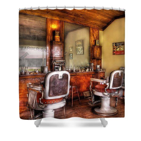 Barber - The Barber Shop II Shower Curtain