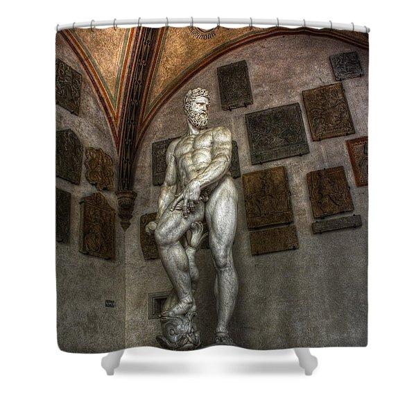 Giambologna's Oceano Shower Curtain