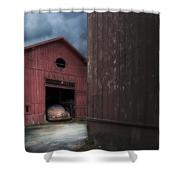 Barn Find Shower Curtain