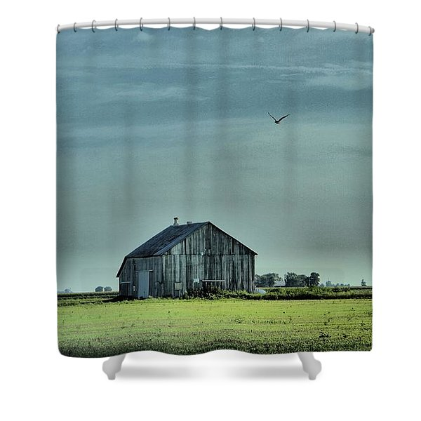 The Flight Home Shower Curtain