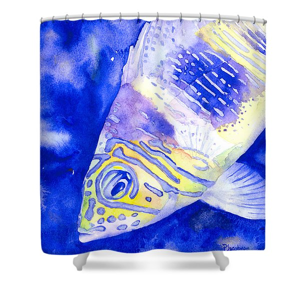 Barred Hamlet Portrait Shower Curtain