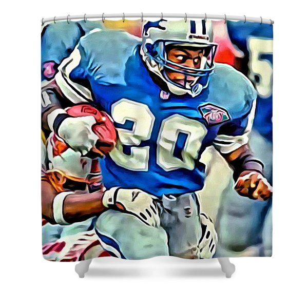 Barry Sanders Shower Curtain