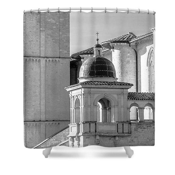 Basilica Details Shower Curtain