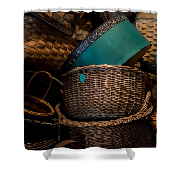Baskets Galore Shower Curtain