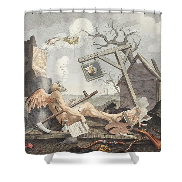 Bathos, Manner Of Sinking, In Sublime Shower Curtain